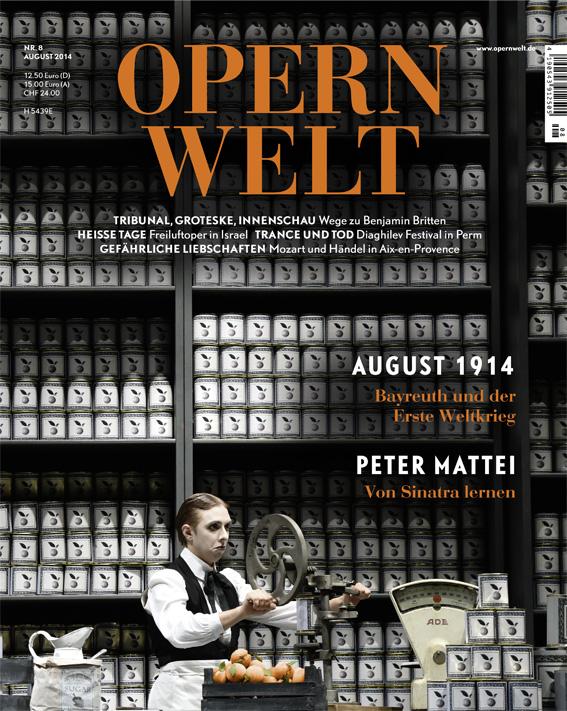 Opernwelt August (8/2014)