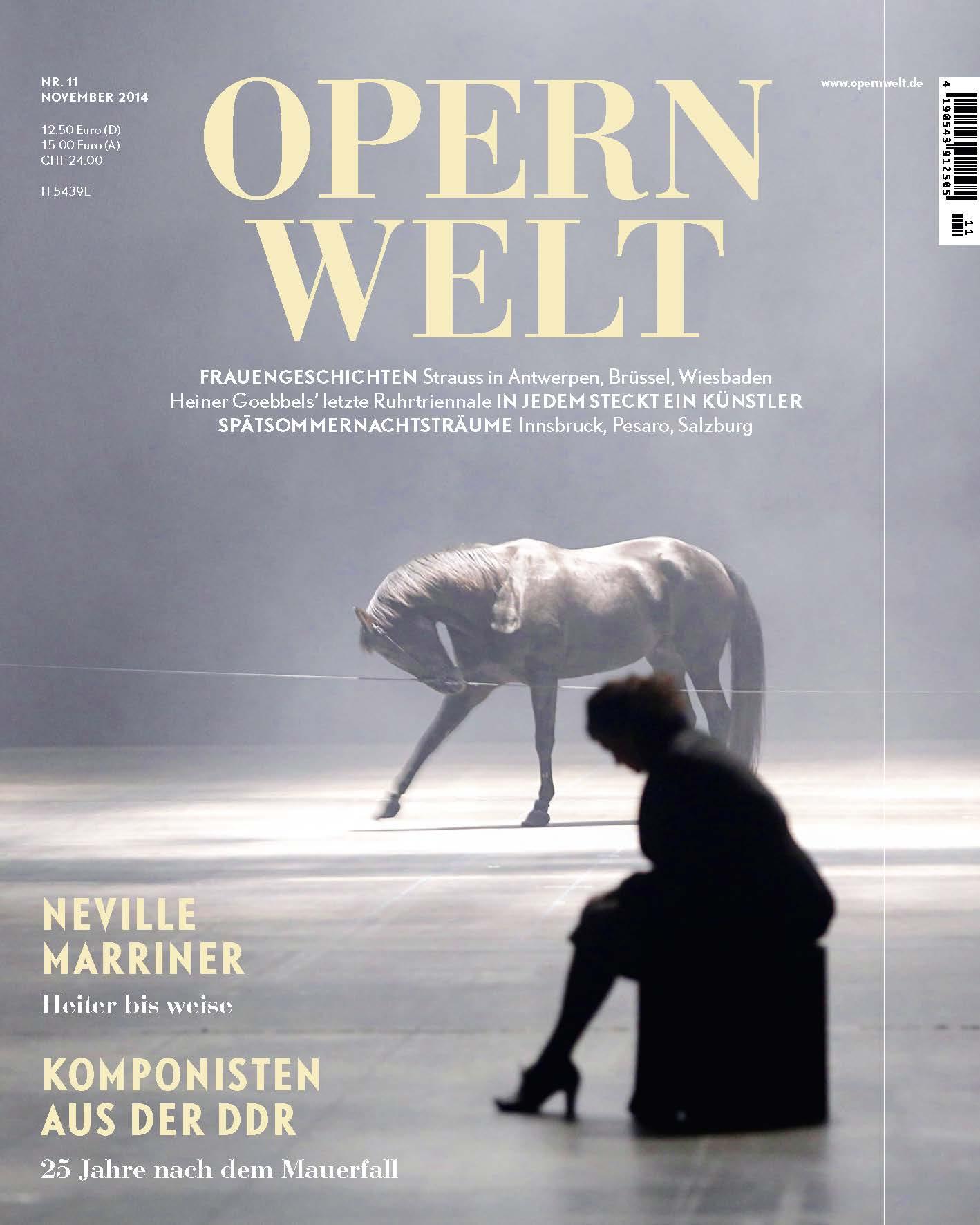 Opernwelt November (11/2014)