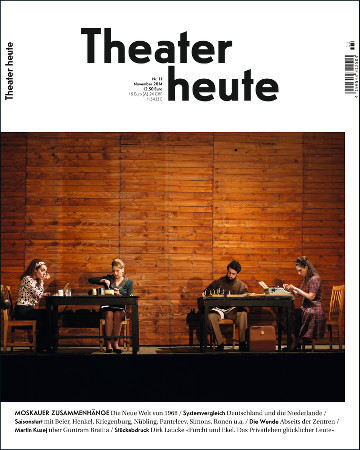 Theater heute November (11/2014)