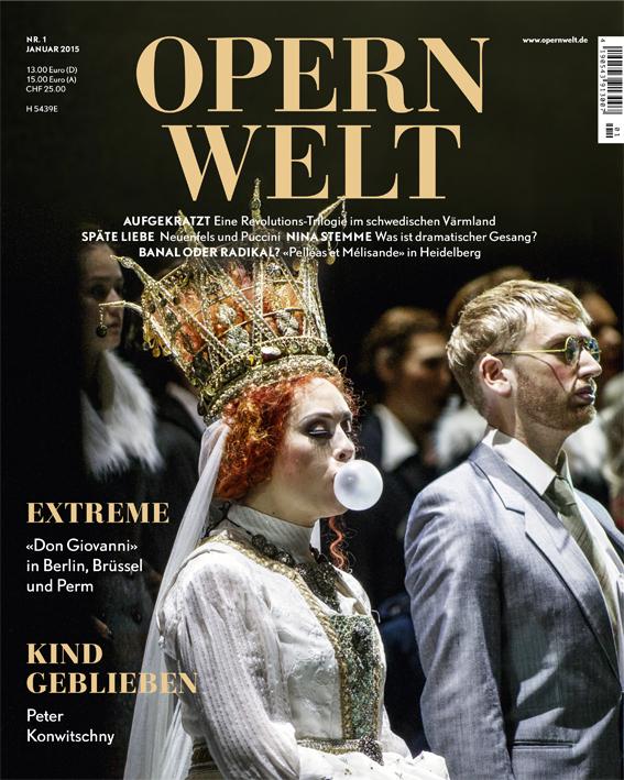 Opernwelt Januar (1/2015)