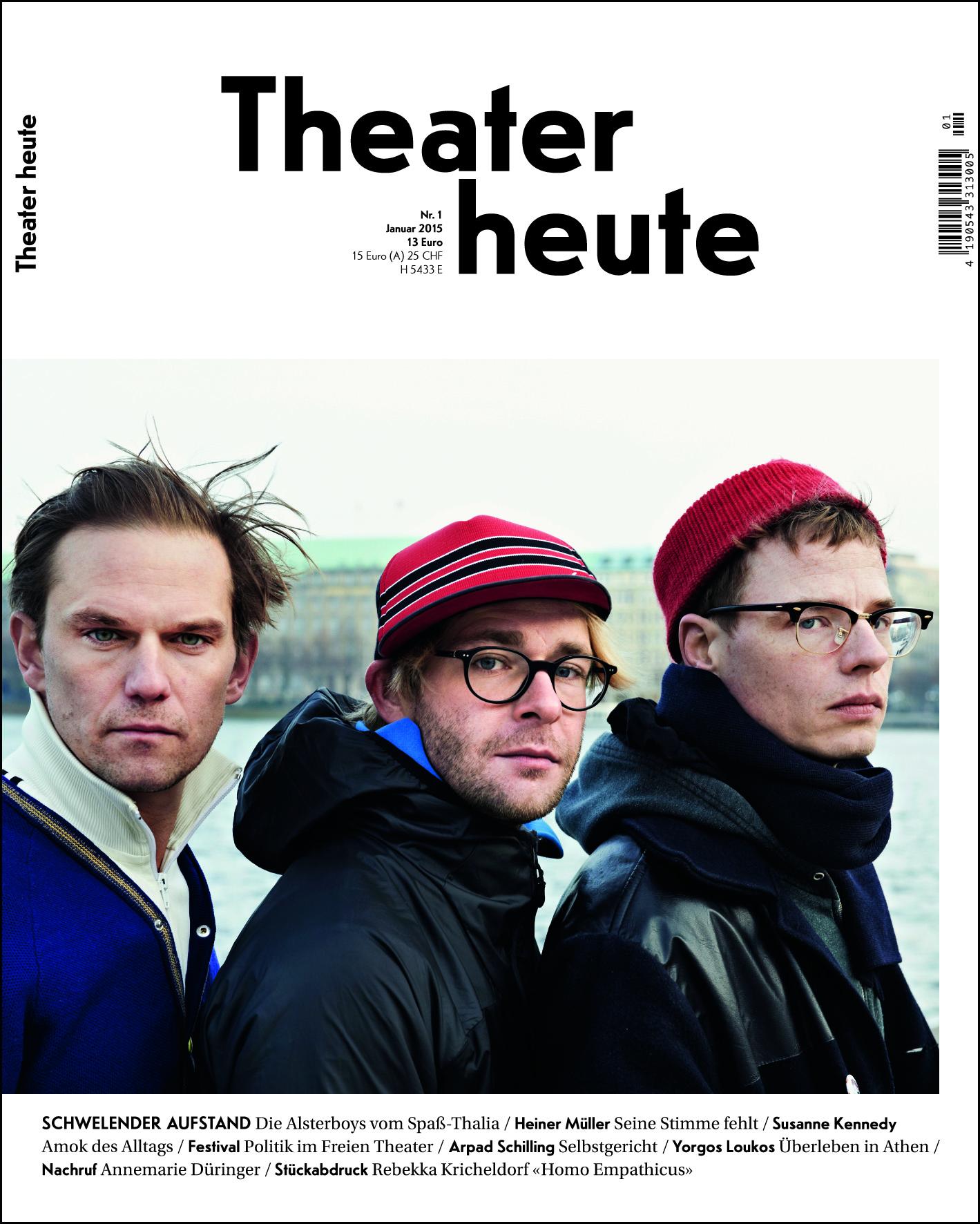 Theater heute Januar (1/2015)