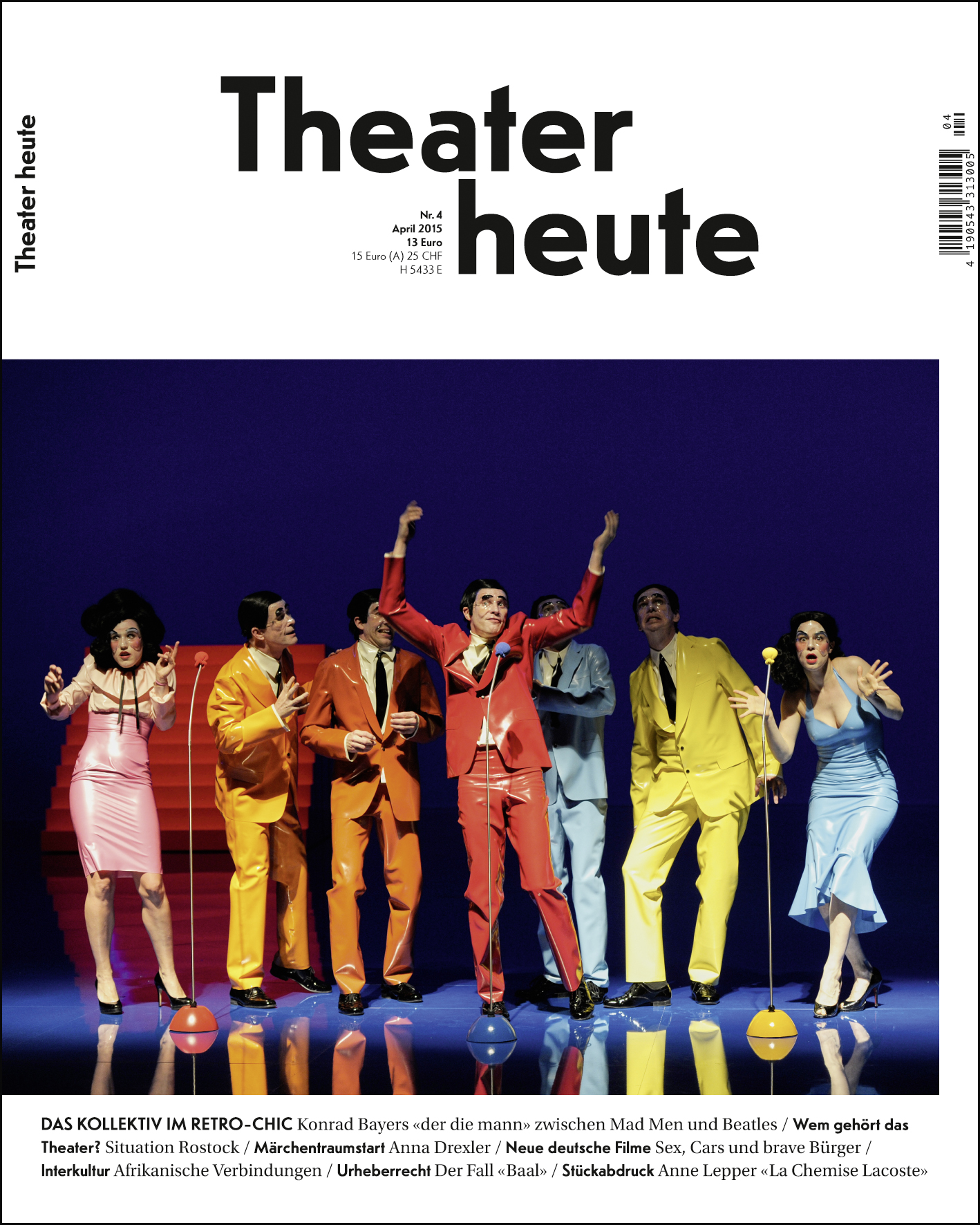 Theater heute April (4/2015)