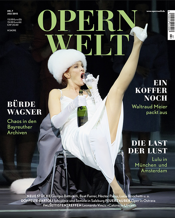 Opernwelt Juli (7/2015)