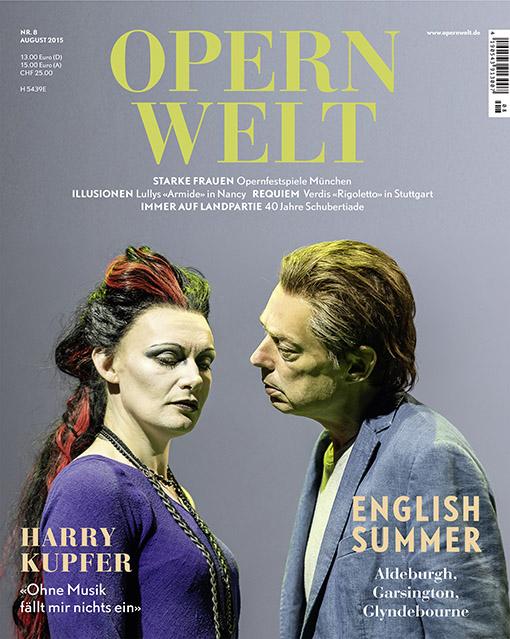 Opernwelt August (8/2015)