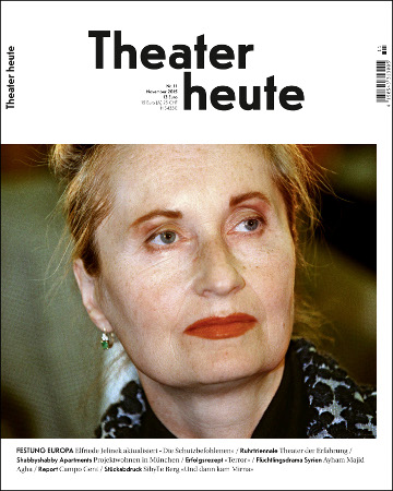 Theater heute November (11/2015)