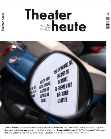 Theater heute Dezember (12/2015)
