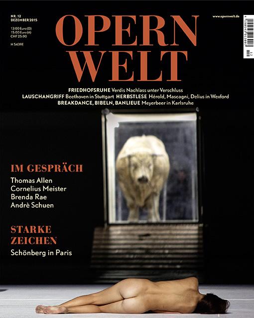Opernwelt Dezember (12/2015)