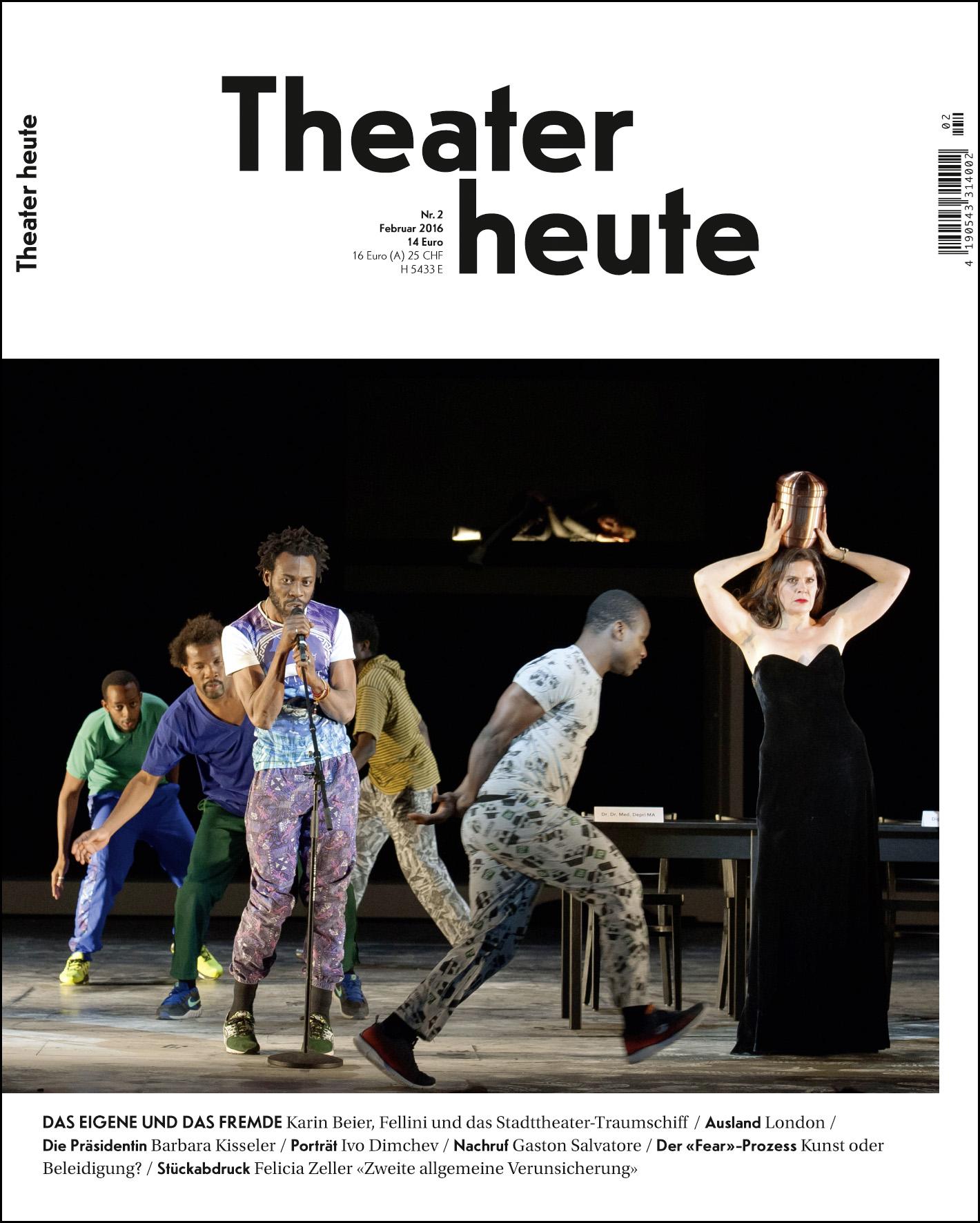 Theater heute Februar (2/2016)
