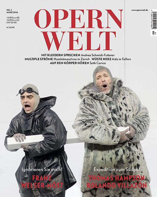 Opernwelt März (3/2016)