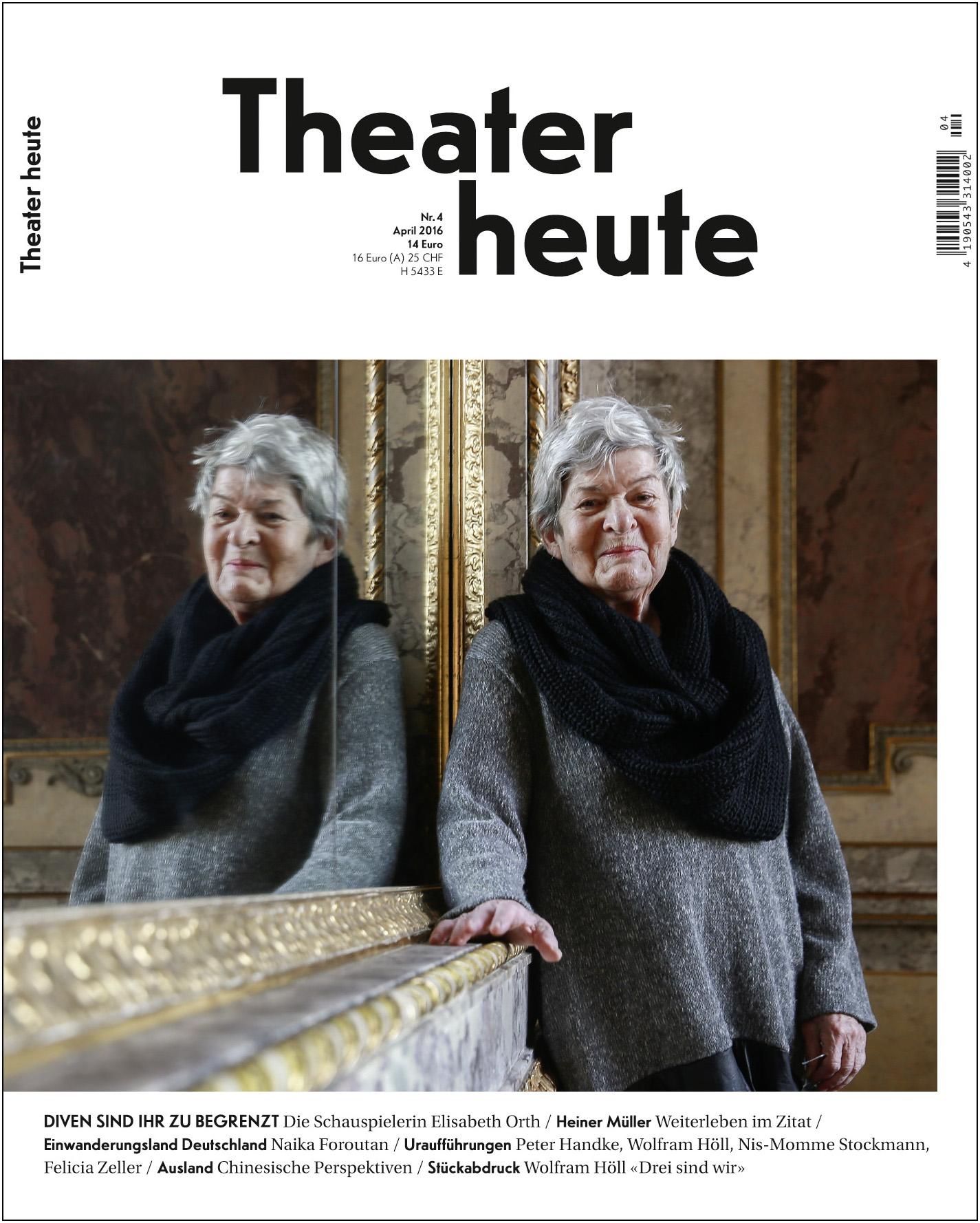 Theater heute April (4/2016)