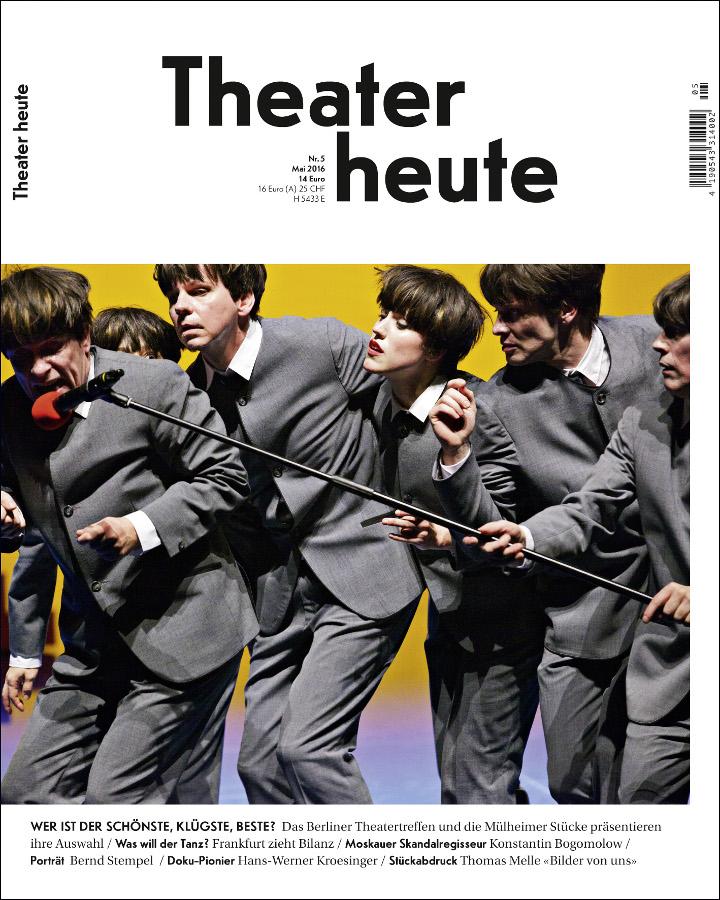 Theater heute Mai (5/2016)