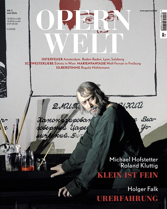 Opernwelt Mai (5/2016)
