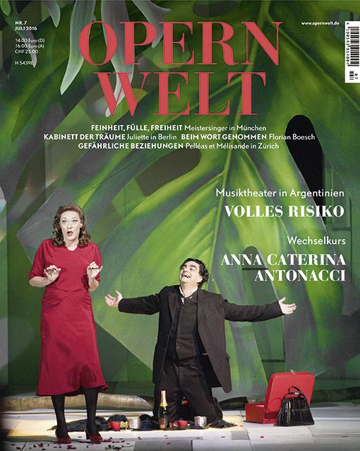 Opernwelt Juli (7/2016)