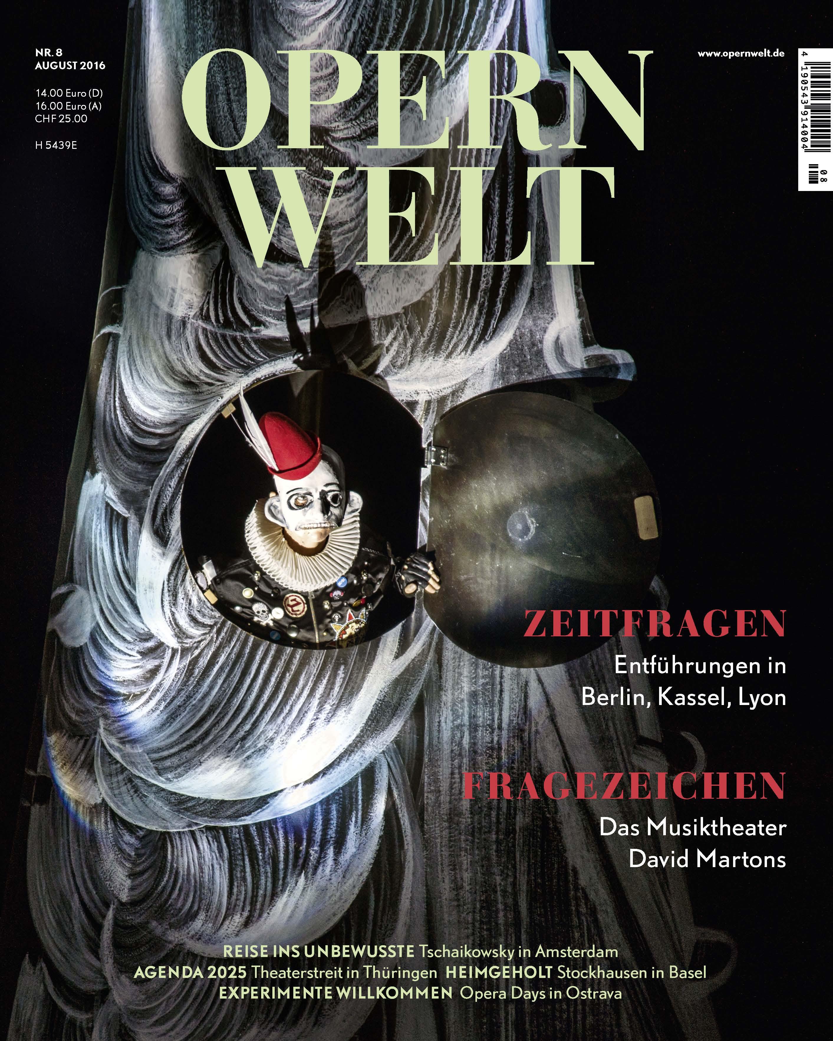 Opernwelt August (8/2016)