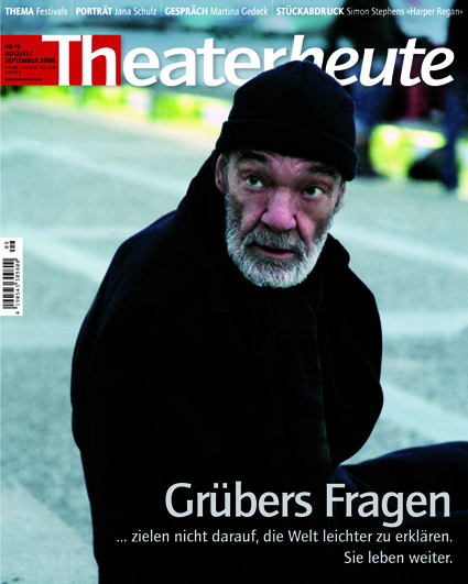 Theater heute August/September (8/9/2008)