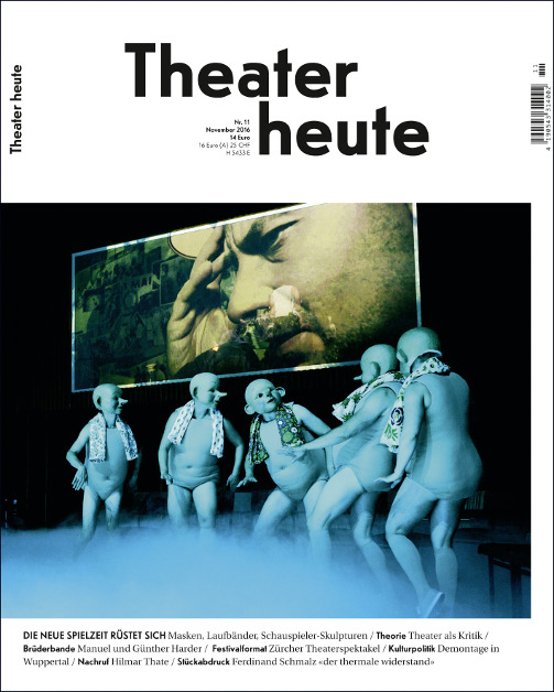 Theater heute November (11/2016)