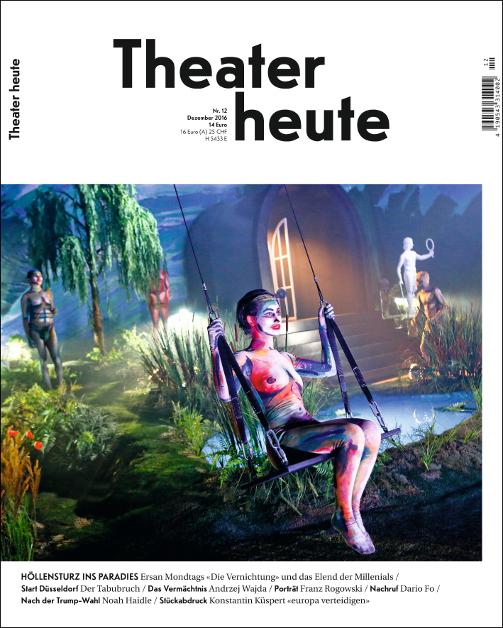 Theater heute Dezember (12/2016)