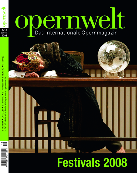 Opernwelt September/Oktober (9/10/2008)