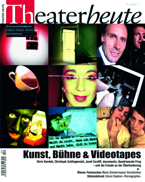 Theater heute August/September (8/9/2007)