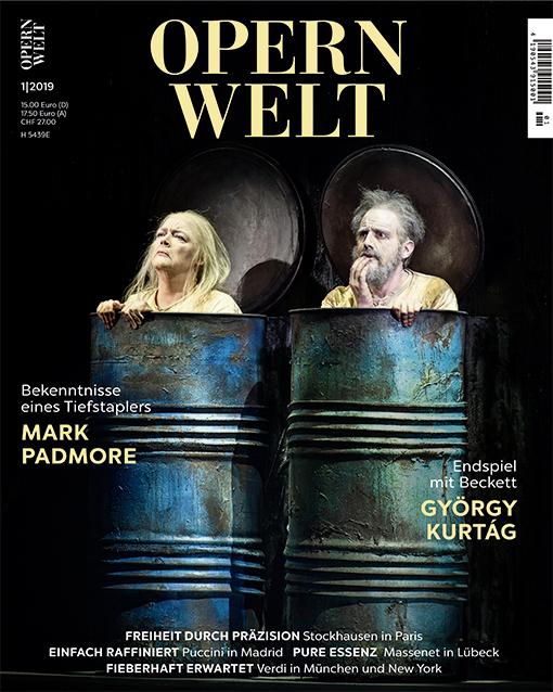 Opernwelt Januar (1/2019)
