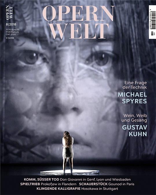 Opernwelt August (8/2018)
