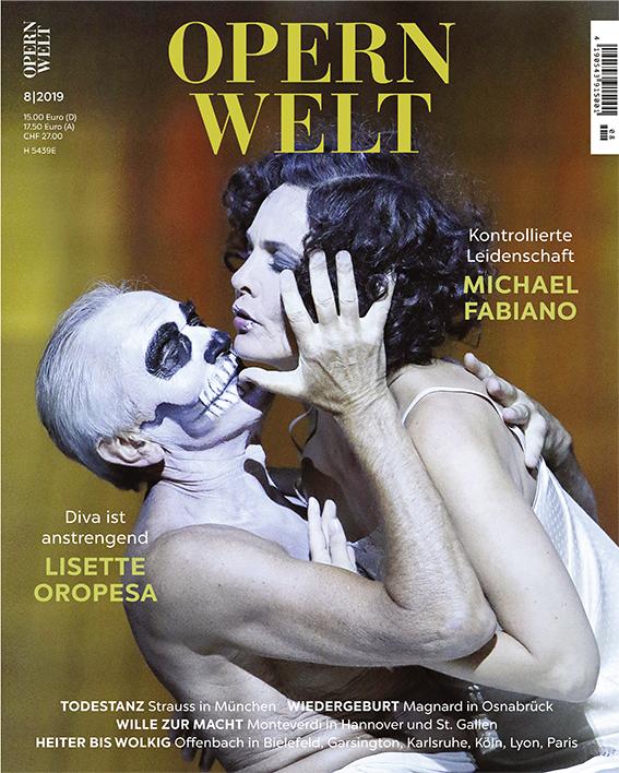 Opernwelt August (8/2019)