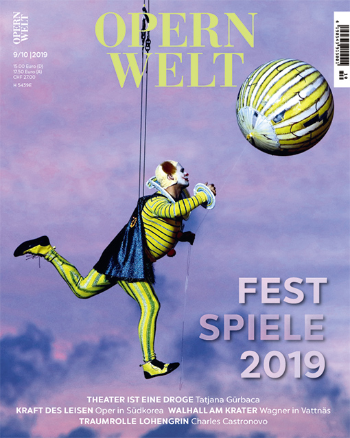 Opernwelt September/Oktober (9/10/2019)