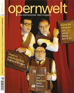 Opernwelt Januar (1/2010)