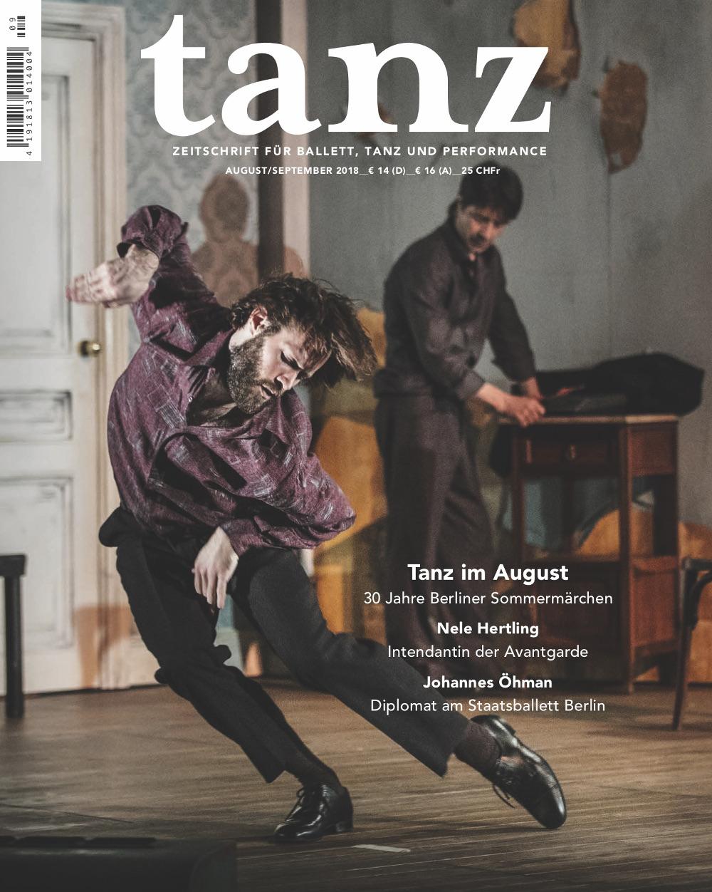 tanz August/September (8/9/2018)