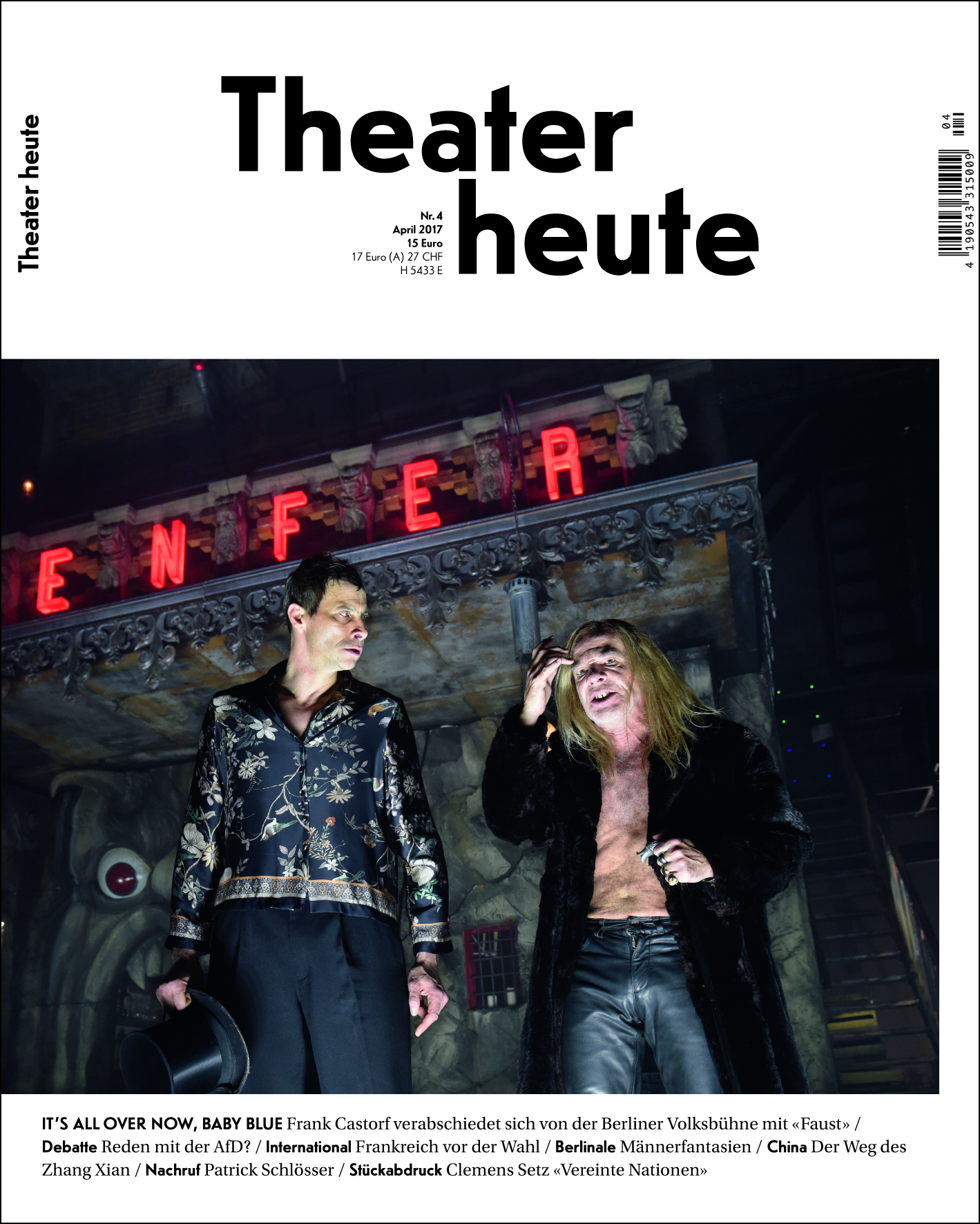 Theater heute April (4/2017)