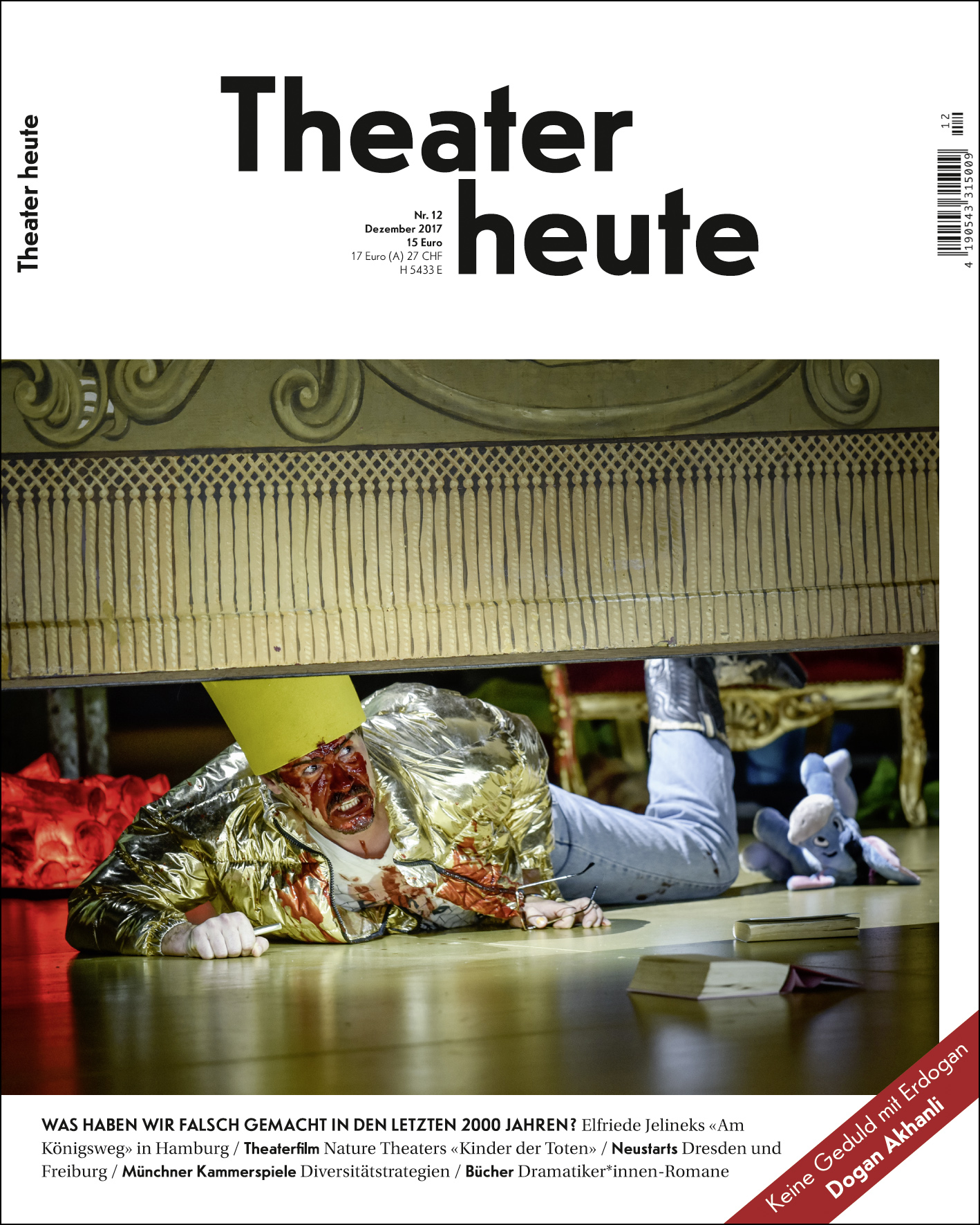 Theater heute Dezember (12/2017)