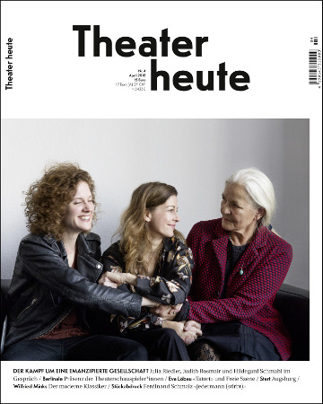 Theater heute April (4/2018)