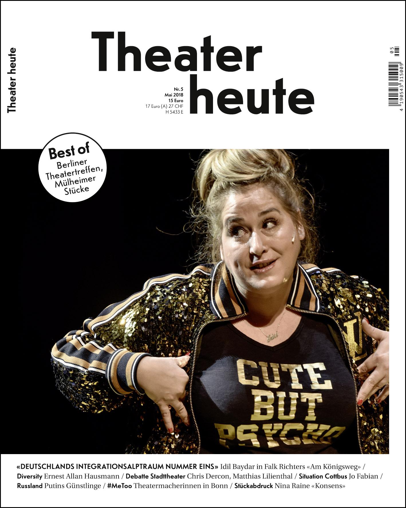 Theater heute Mai (5/2018)