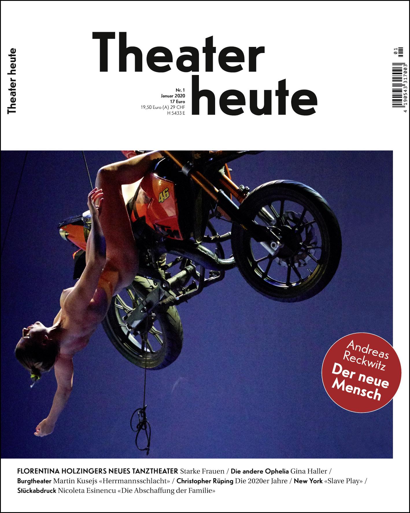 Theater heute (1/2020)