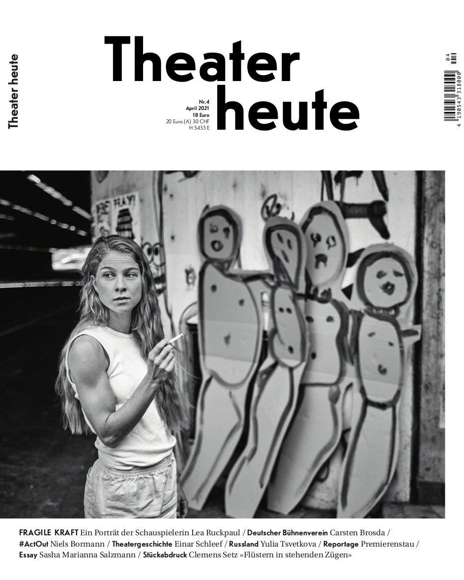 Theater heute April (4/2021)