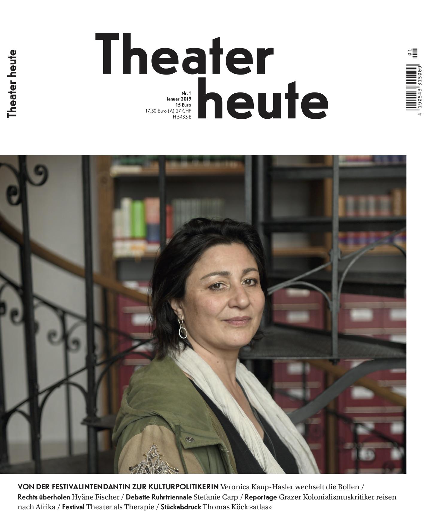 Theater heute Januar (1/2019)