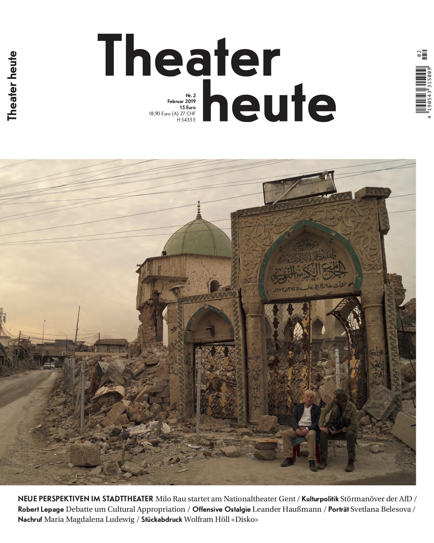 Theater heute Februar (2/2019)