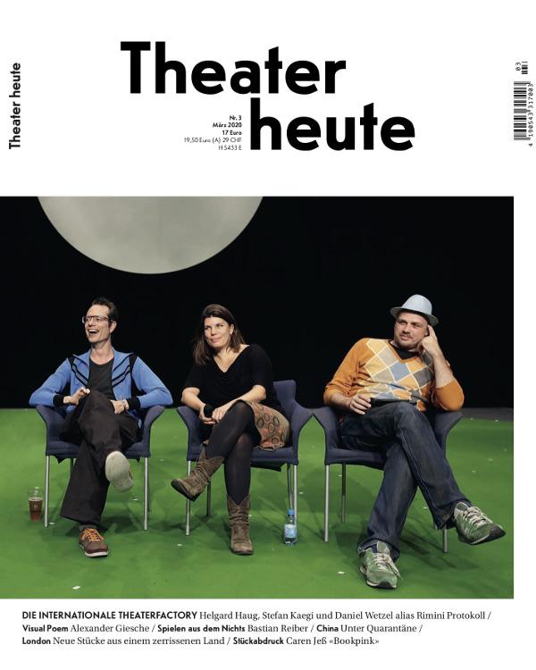Theater heute März (3/2020)