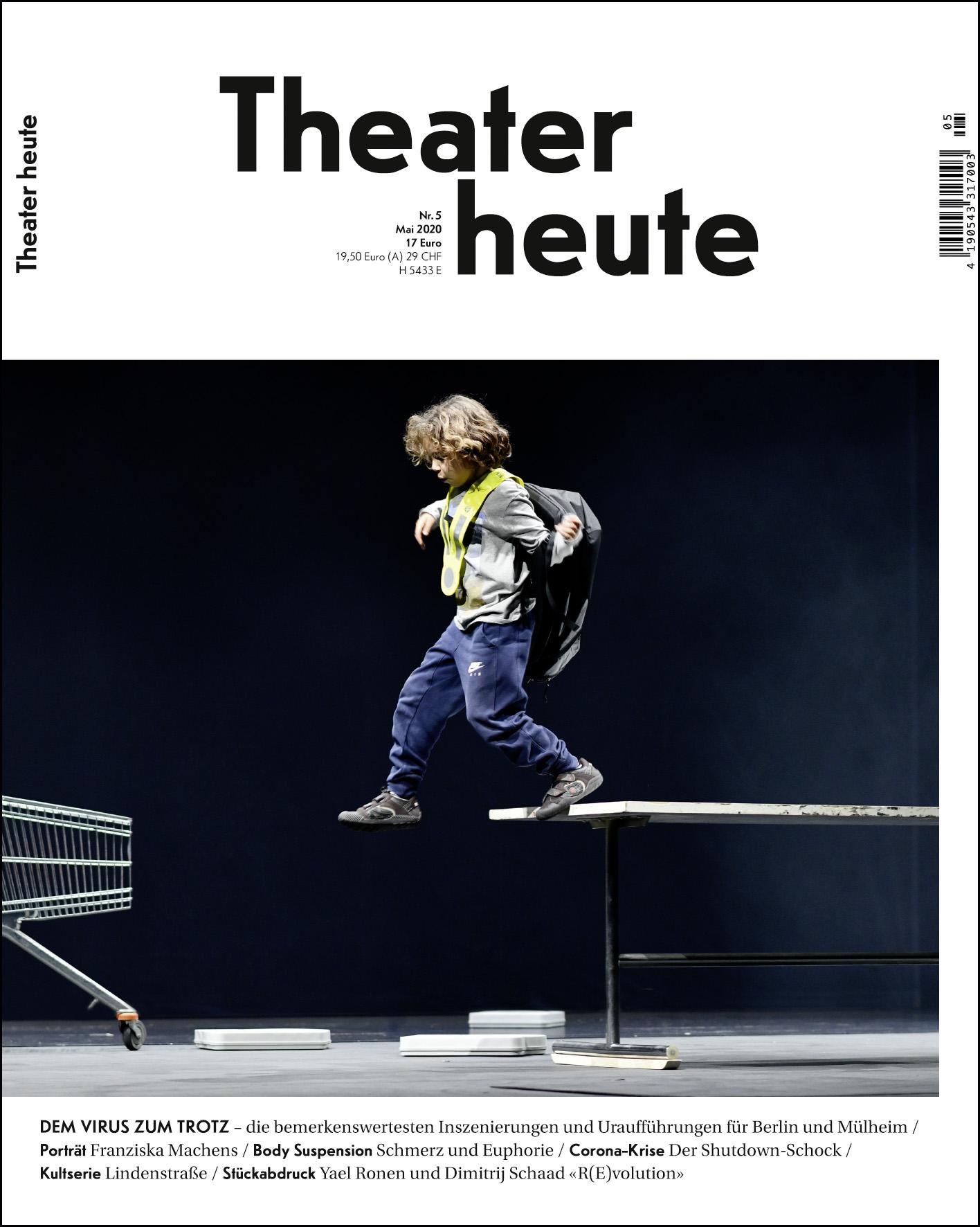 Theater heute (5/2020)