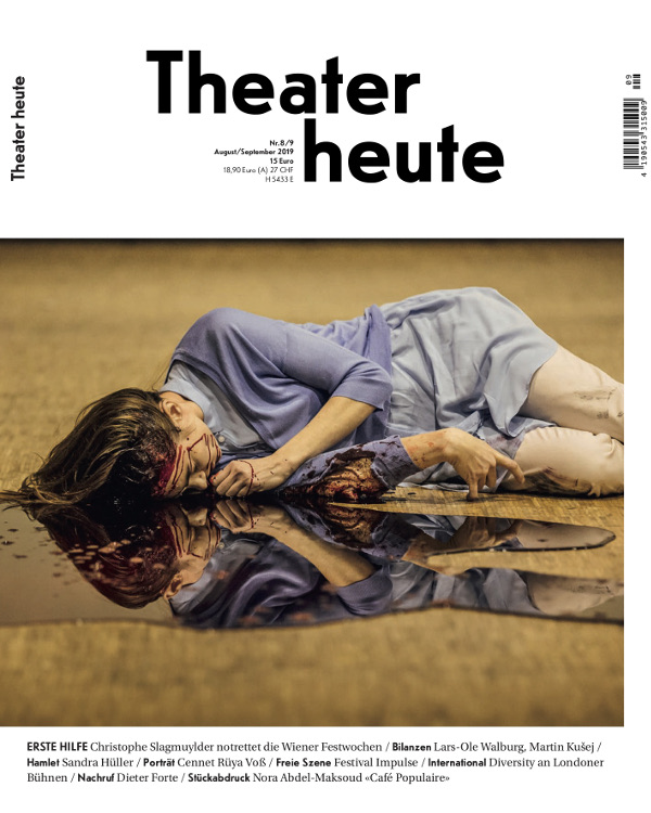 Theater heute August/September (8/9/2019)