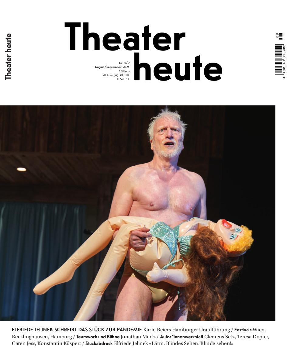 Theater heute August/September (8/9/2021)