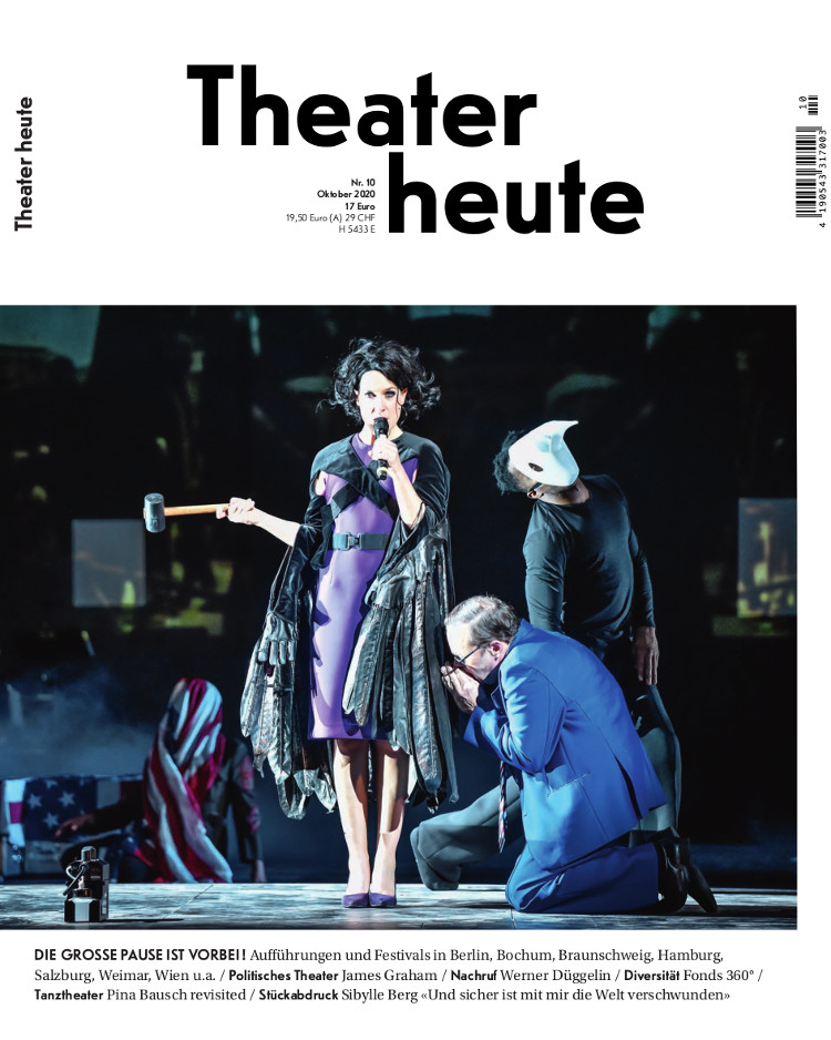 Theater heute Oktober (10/2020)