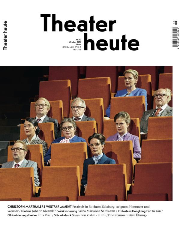 Theater heute (10/2019)