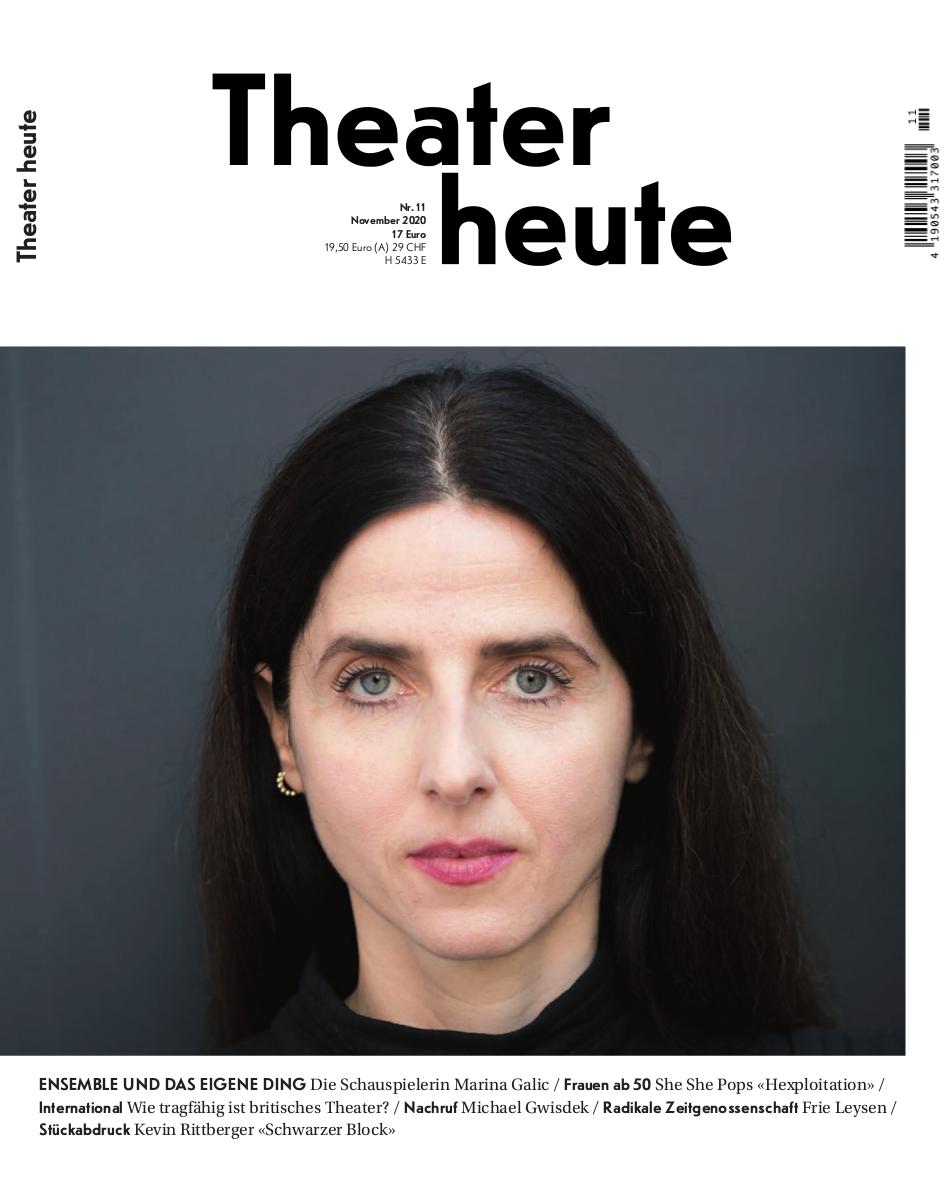 Theater heute November (11/2020)