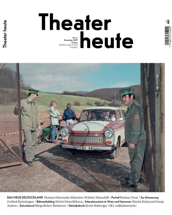 Theater heute (11/2019)