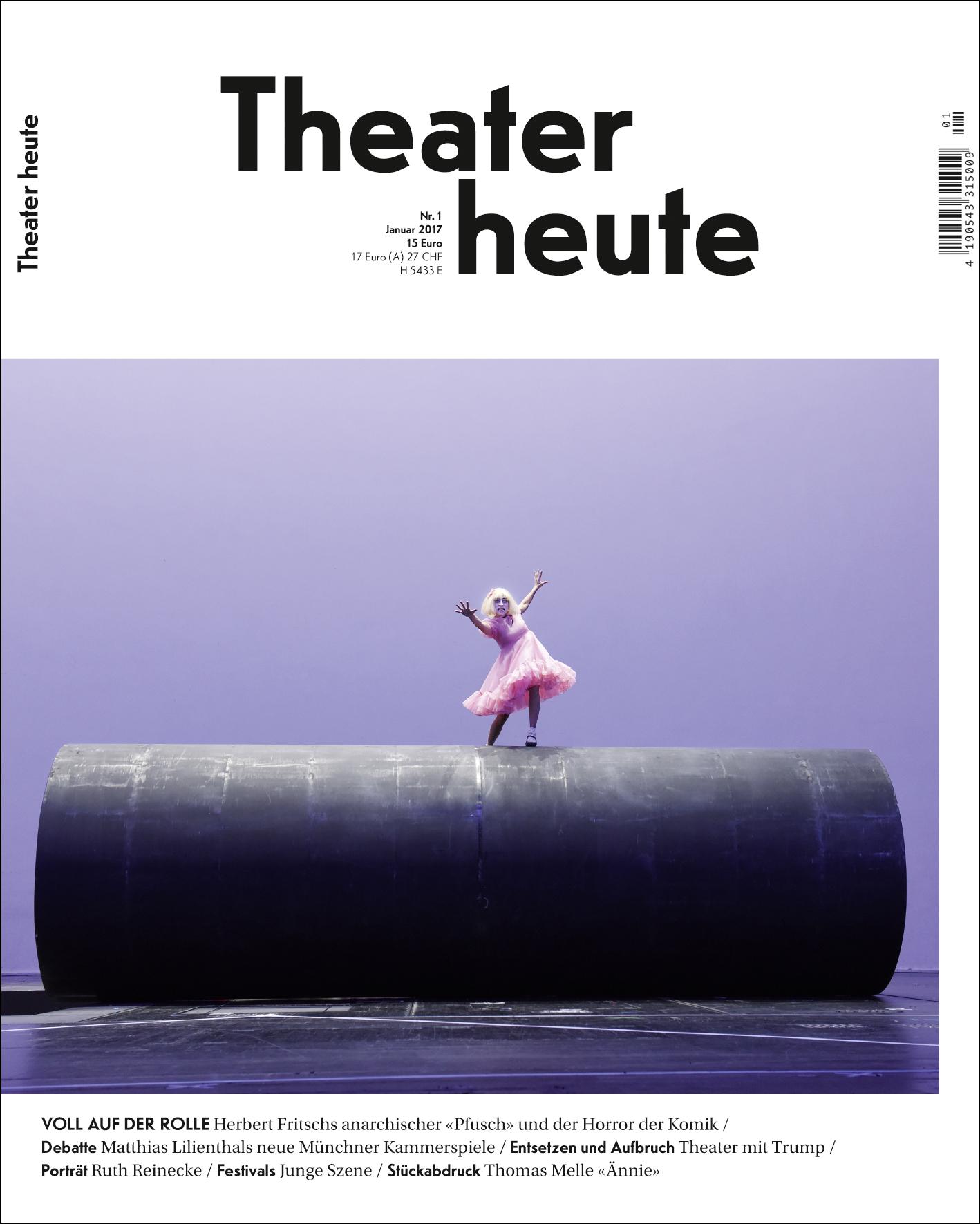 Theater heute Januar (1/2017)