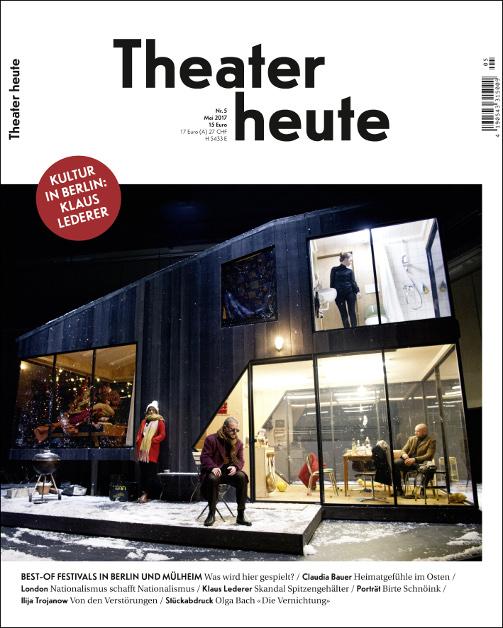 Theater heute Mai (5/2017)