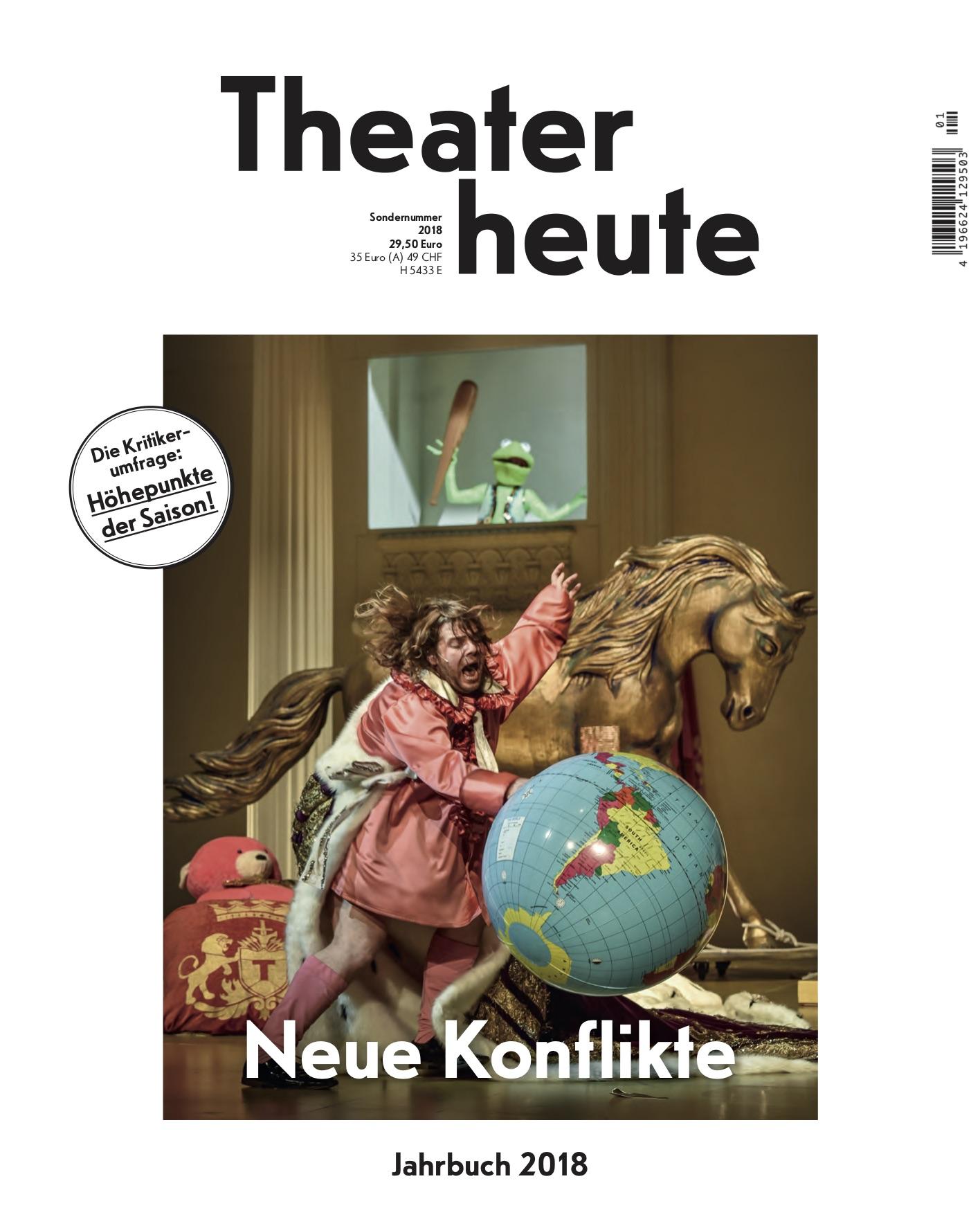 Theater heute Jahrbuch (13/2018)